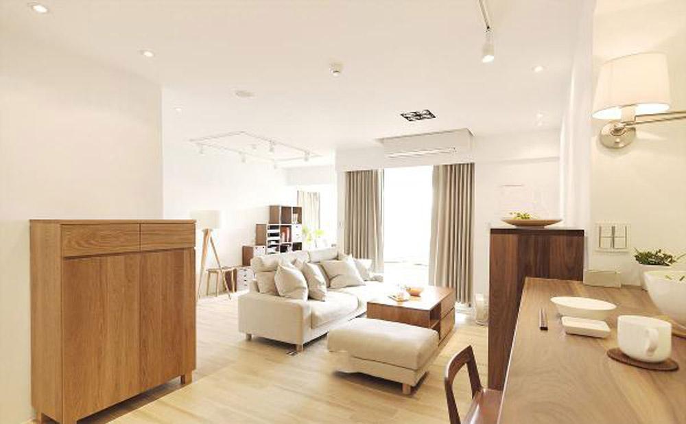 天阳尚城国际-现代简约-二居室装修效果图