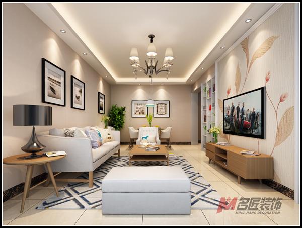鑫泰城现代风格一居家装效果图