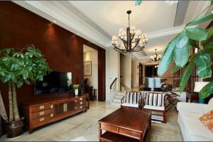 橡树南湾-三室两厅装修效果图
