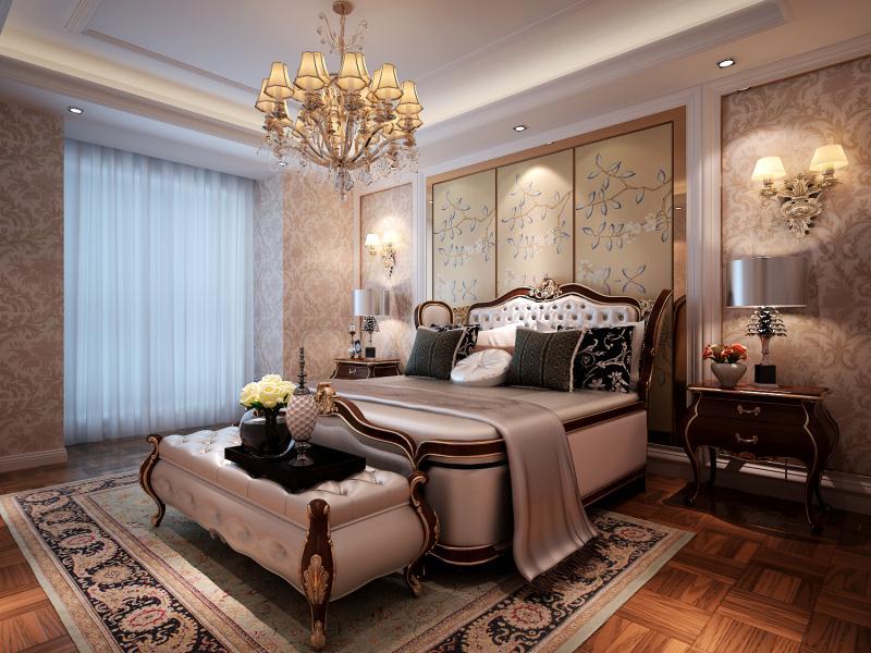 亮丽家园 简欧风格 168平米家装效果图