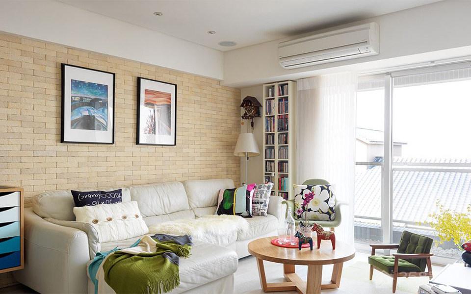 碧桂园二居室现代风格家装效果图
