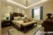 保利拉菲四居室美式风格装修效果图