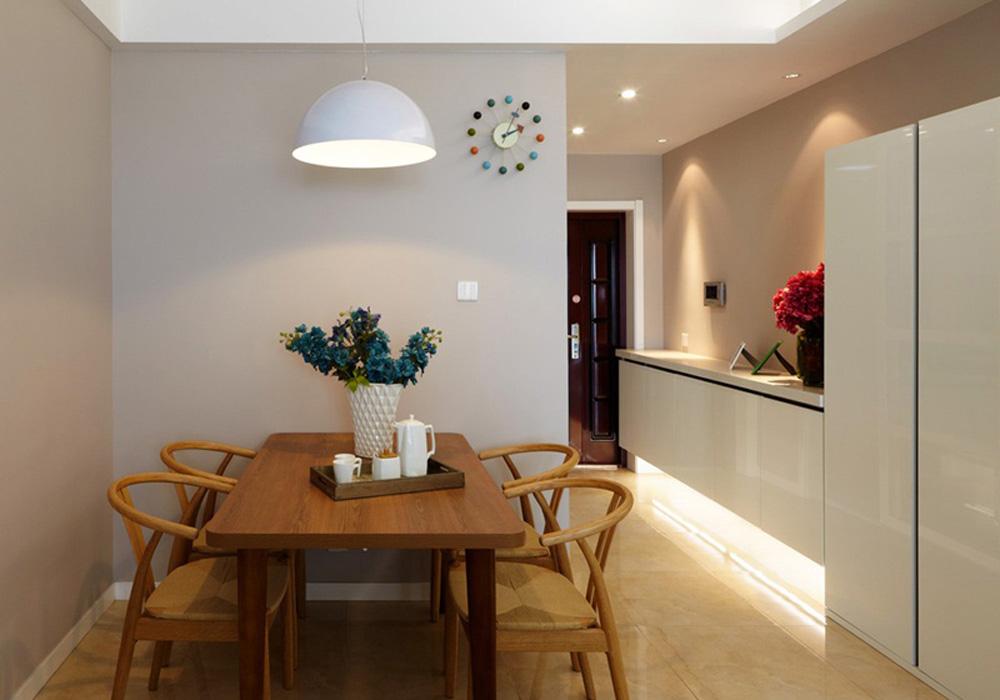 理想银泰城-北欧风格-三居室 装修效果图