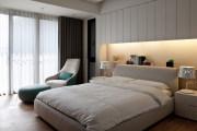 莲花新城现代简约三居室装修效果图