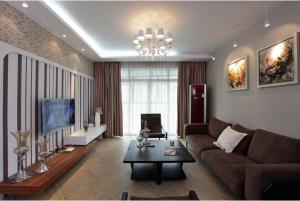 香榭水岸(现代简约)三室两厅家装效果图