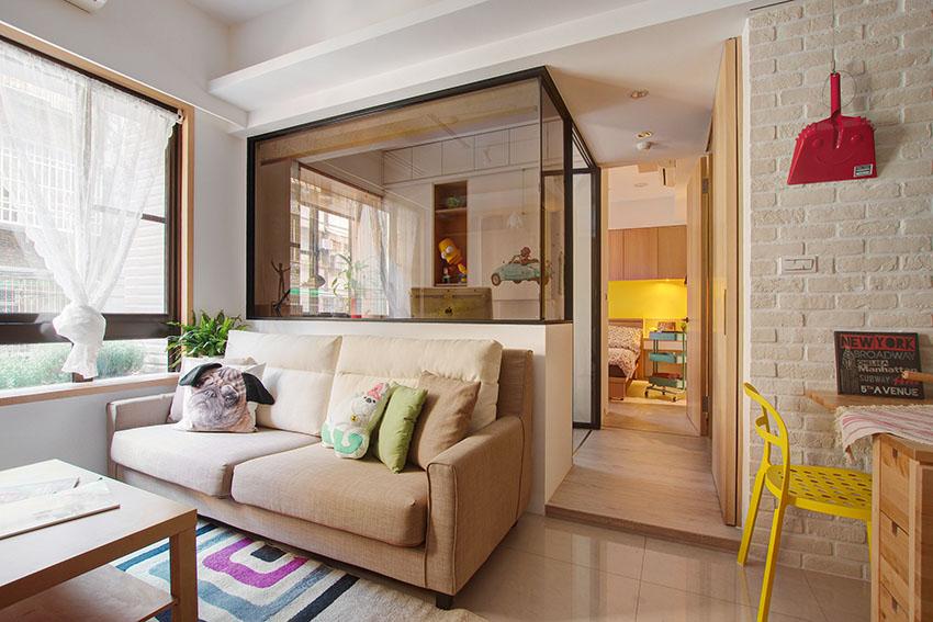 曲江风景线 现代简约风格三居家装效果图