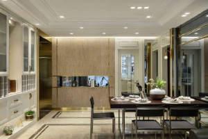 皇冠国际三居室现代风格家装效果图