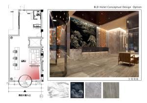 BLD假日酒店欧式跃层式装修效果图