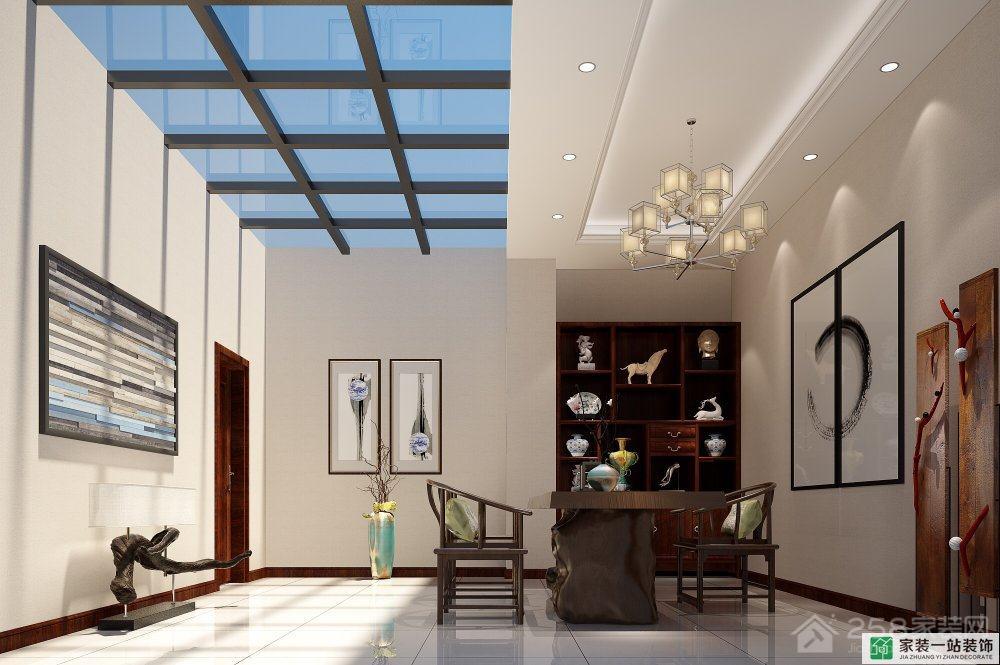 葡萄庄园别墅360平简约欧式家装效果图