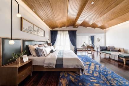 海伦国际中式三居装修效果图