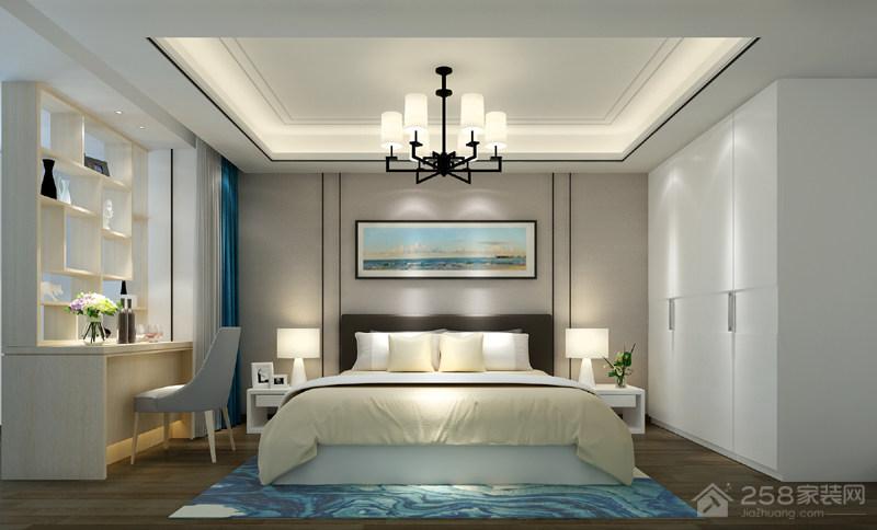 海珠区海加阁现代简约二居装修效果图