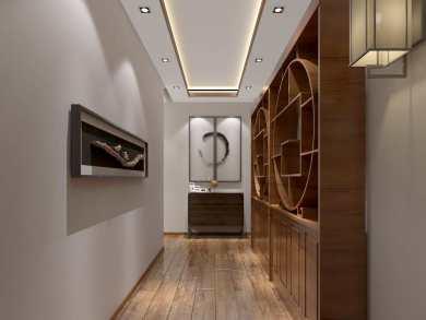 安宁盛世佳园别墅A32中式家装效果图