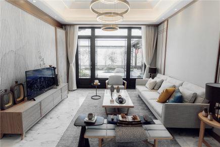 南亚风情第一城  新中式三居装修效果图