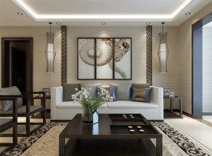 保利香槟国际东南亚风格四居家装效果图