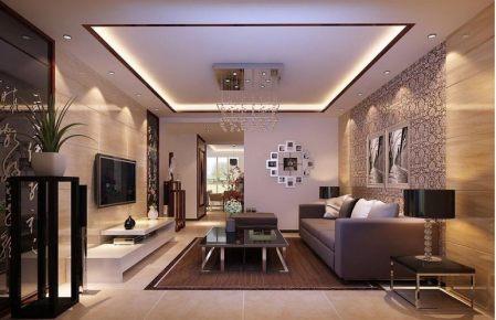 永威城中式风格131平三居家装效果图