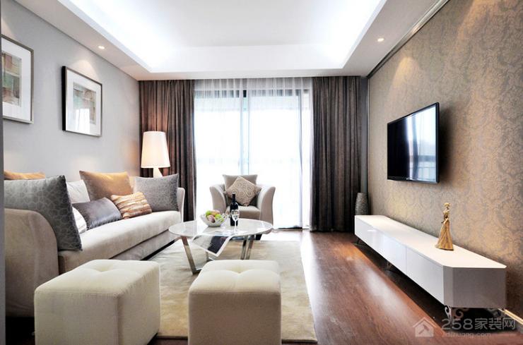 莱安逸辉170平欧式风格三居家装效果图