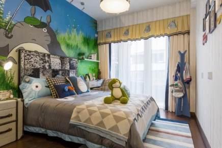 白桦林居150平米混搭三居装修效果图