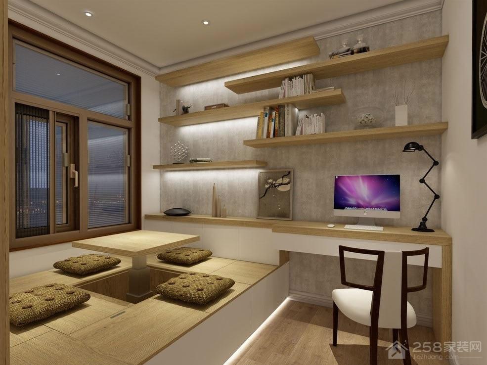 德蚨家园99平米简约欧式风三居装修效果图