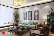 龙汇国际小区84平新中式风格装修效果图