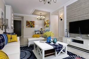 万和四季三居室现代简约风格家装效果图