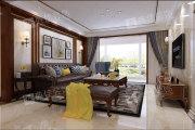 汤河名筑三期 三室两厅  欧式风格家装效果图
