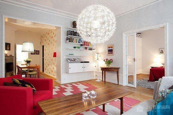 南海家园小户型现代简约二居装修效果图