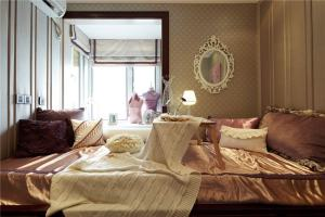阳光城花与海欧式三居家装效果图