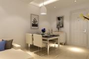 世茂公元三室一厅一厨一卫现代简约装修效果图