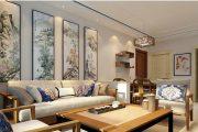 水韵江南新中式复式家装效果图