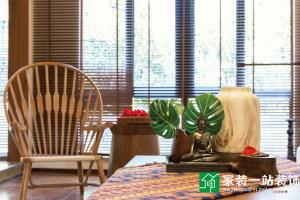 东湖花园东南亚风两居室装修效果图