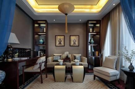 古典风情   中式古色雅致三居室装修效果图