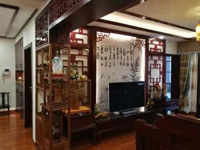 世纪生活畅想园中式四居装修效果图