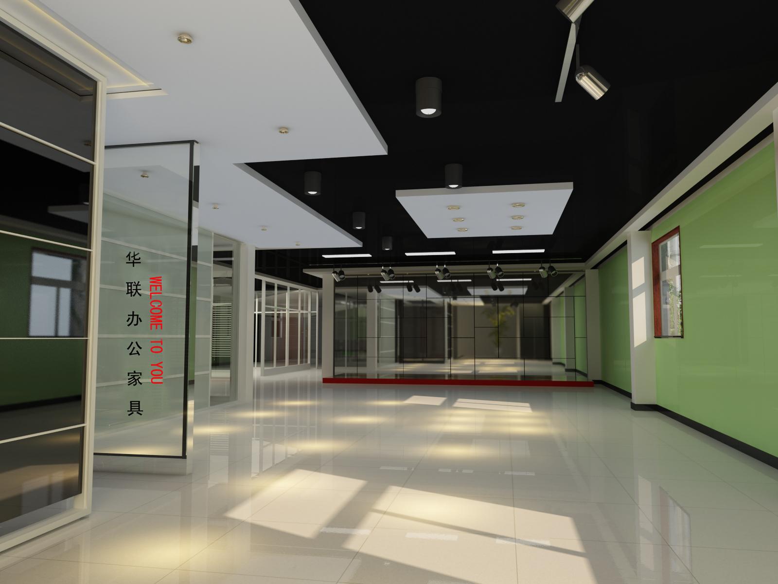 清徐华联展厅装修效果图