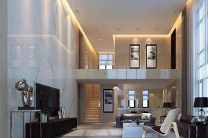 金地珑悦复式现代简约家装效果图