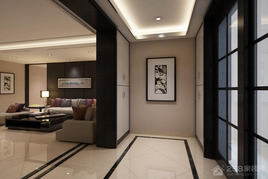 平碧桂园中式三居家装效果图