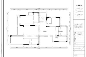 龙湖龙誉城美式四居装修效果图