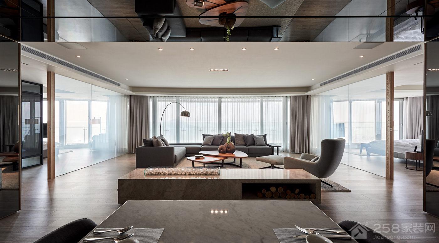 光合作用設計现代简约四居家装效果图