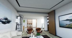 山上洋房现代简约四居装修效果图