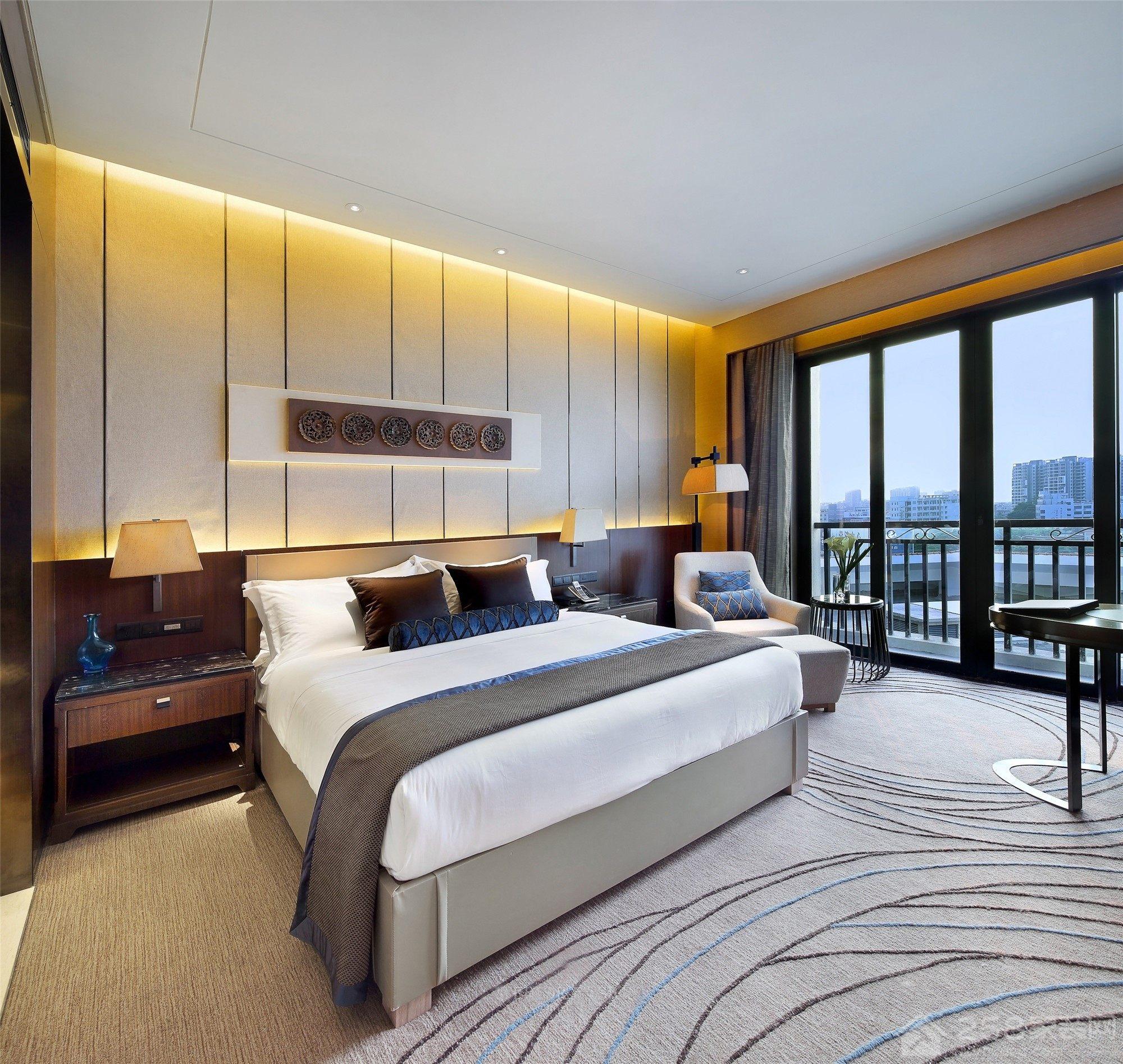 上海精品酒店装修效果图