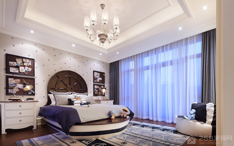 杭州别墅12栋美式装修效果图