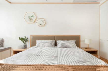 东骧神骏二期两居室日式家装效果图