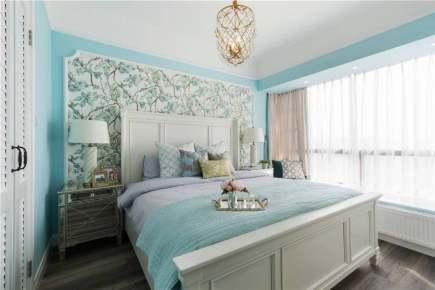 绿地香树花城3居室美式家装效果图