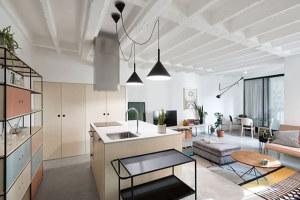 海伦春天98平两居室现代简约装修效果图
