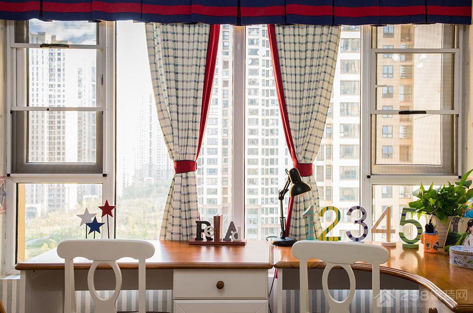 水岸人家112平三居室混搭装修效果图