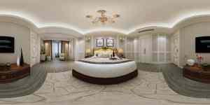 绿城海棠湾25#美式家装效果图