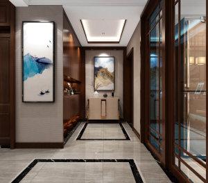 万豪风景 新中式风格124平套三大包16万