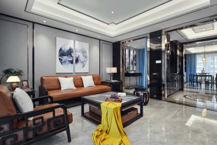 雨花国际2居室中式二居装修效果图