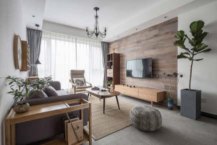 万宏国际3居室北欧装修效果图