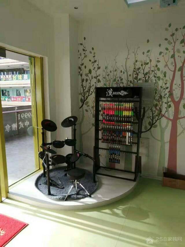 乐斯数字电鼓教室装修效果图