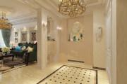 保利上城洋房3层欧式别墅家装效果图